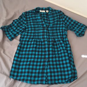 Allison Brittney Plaid Shirt